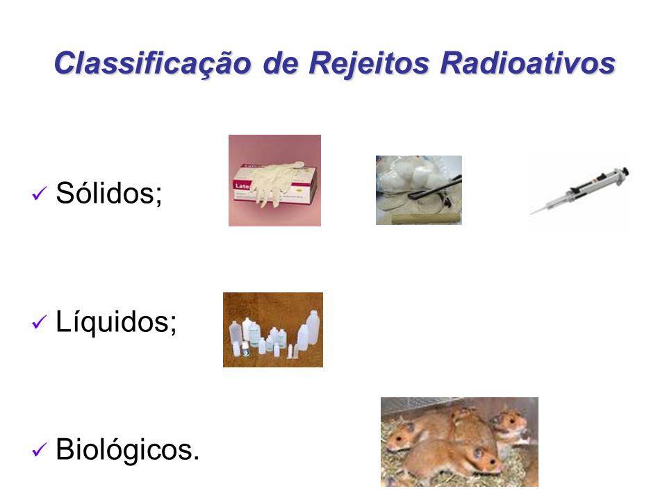 Classificação de Rejeitos Radioativos