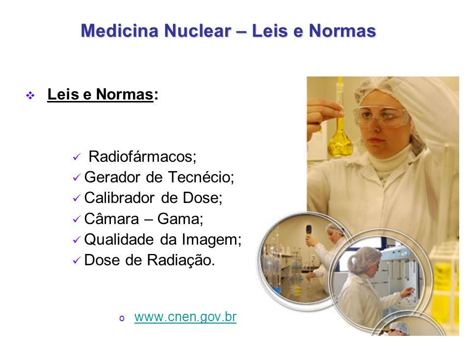 Medicina Nuclear – Leis e Normas