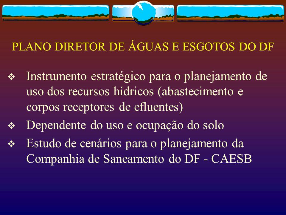 PLANO DIRETOR DE ÁGUAS E ESGOTOS DO DF