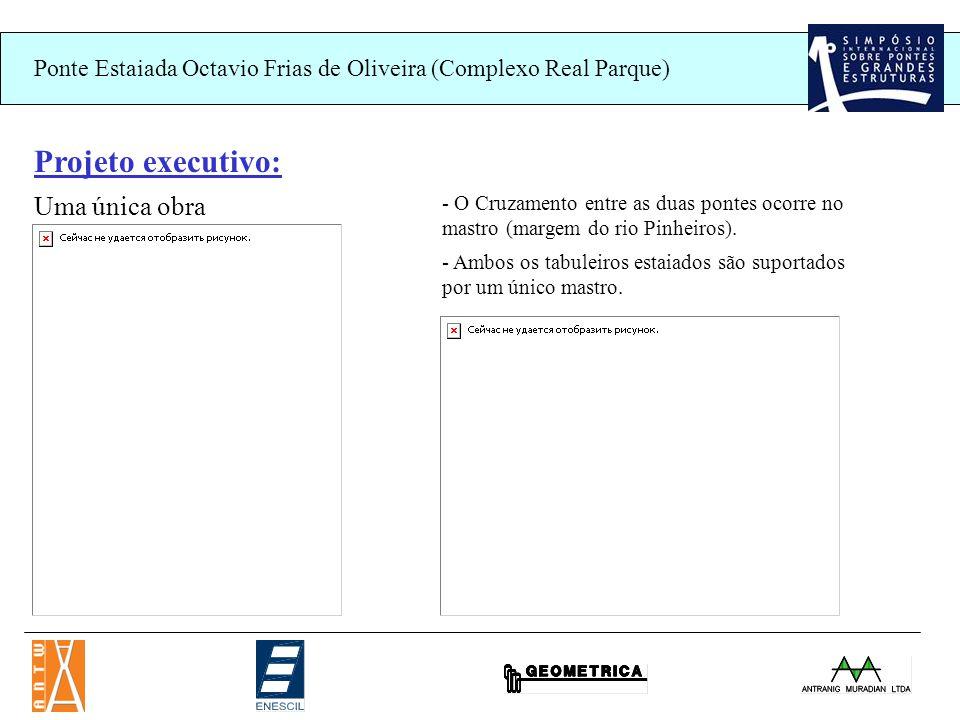 Projeto executivo: Uma única obra