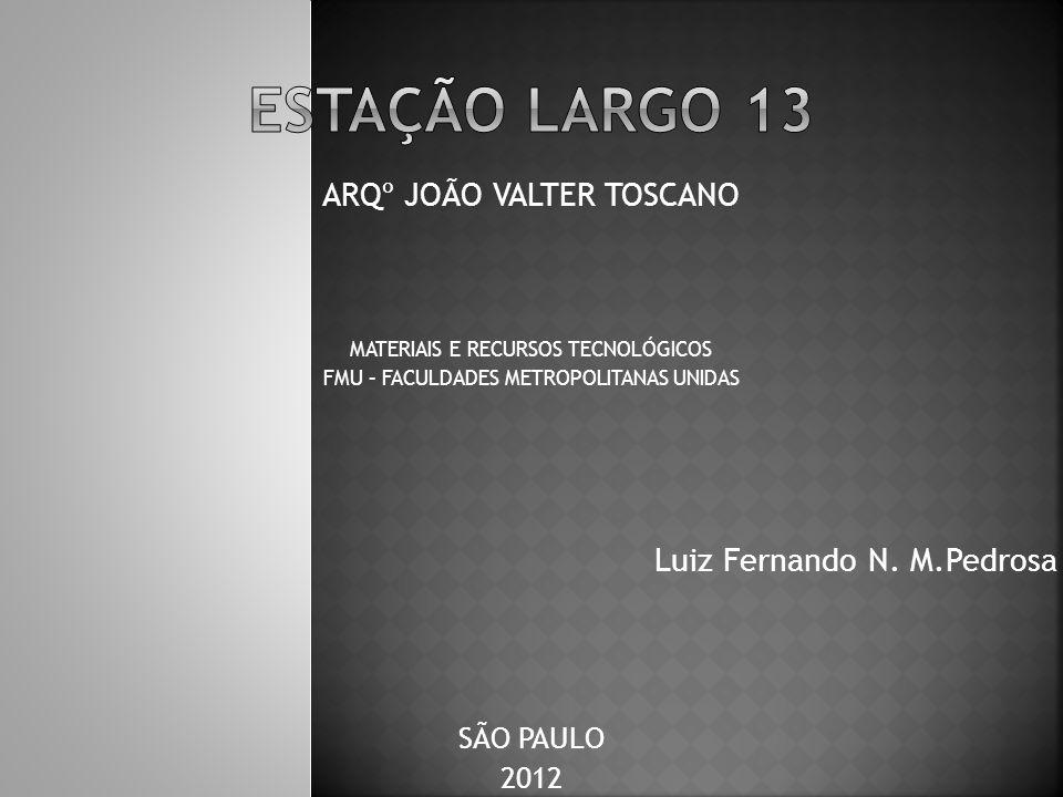 ARQº JOÃO VALTER TOSCANO