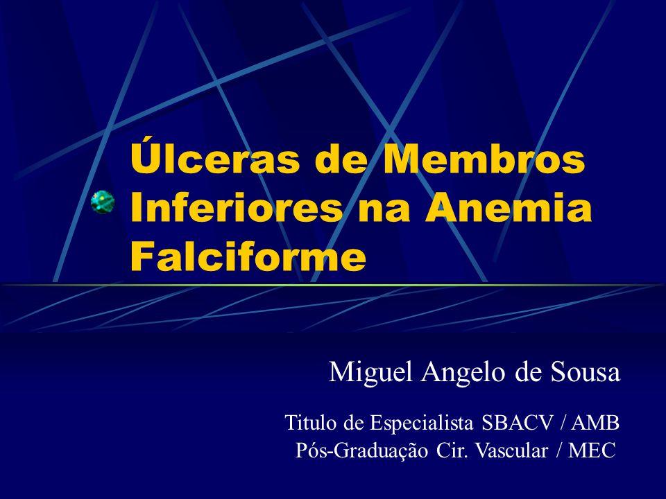 Úlceras de Membros Inferiores na Anemia Falciforme