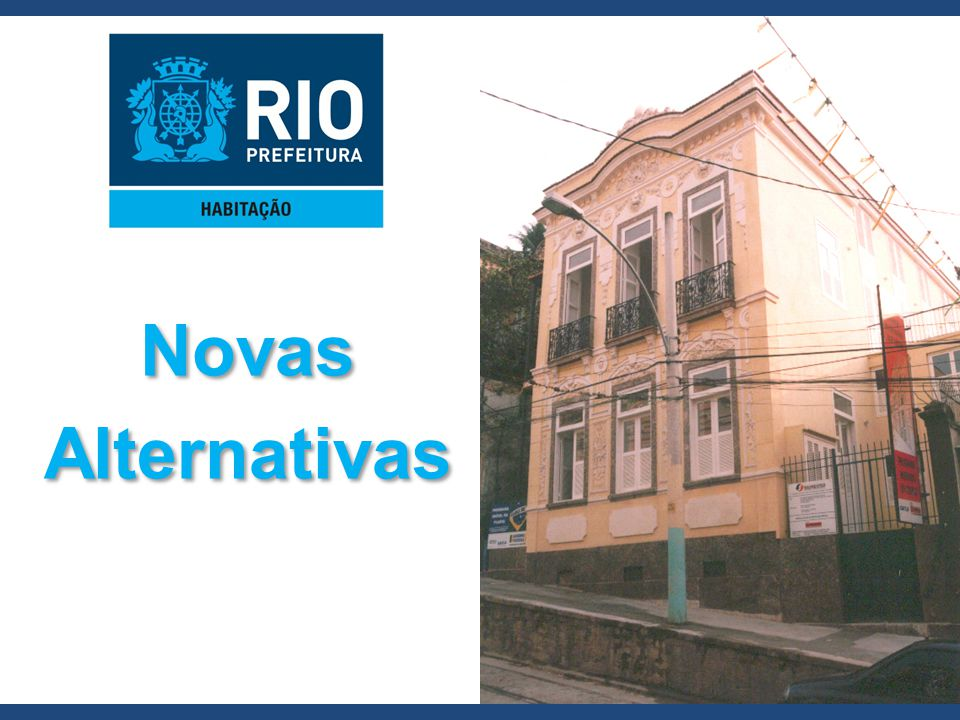 Novas Alternativas
