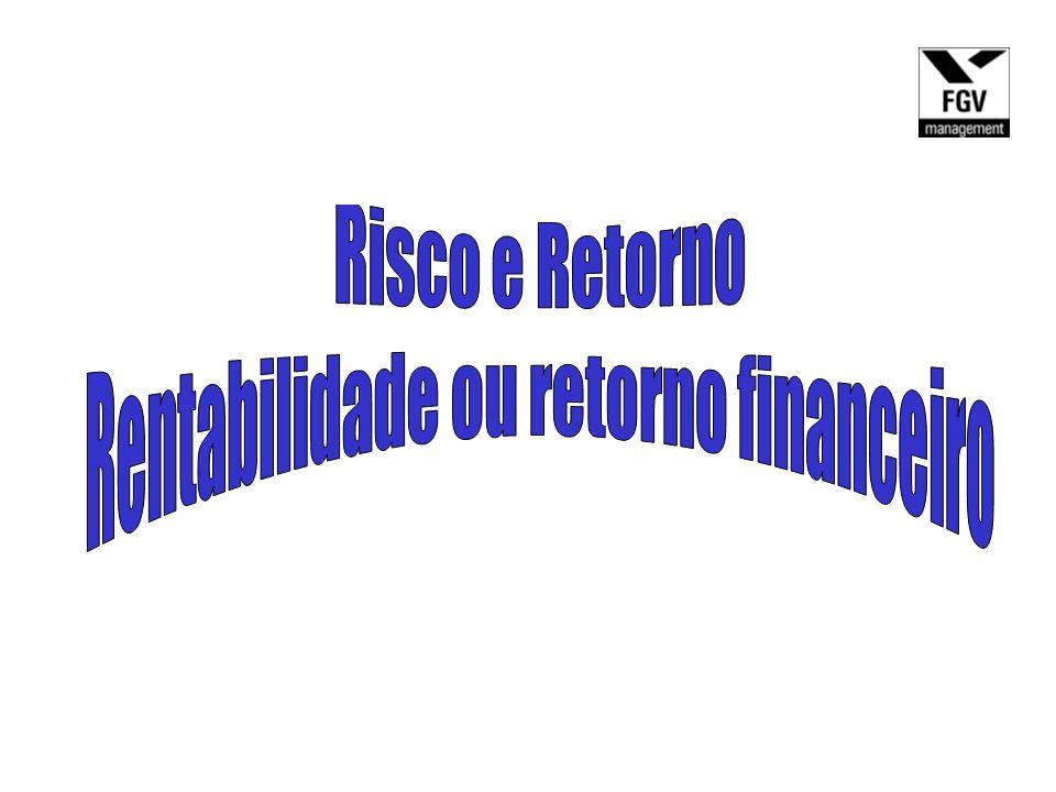 Rentabilidade ou retorno financeiro