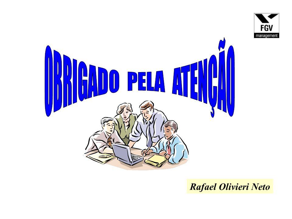 OBRIGADO PELA ATENÇÃO Rafael Olivieri Neto
