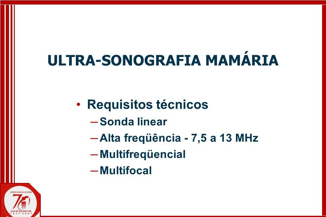 ULTRA-SONOGRAFIA MAMÁRIA