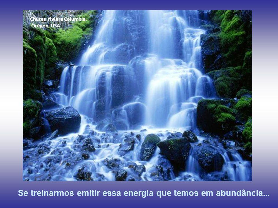 Se treinarmos emitir essa energia que temos em abundância...