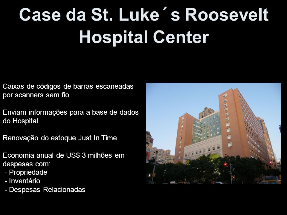 Case da St. Luke´s Roosevelt Hospital Center
