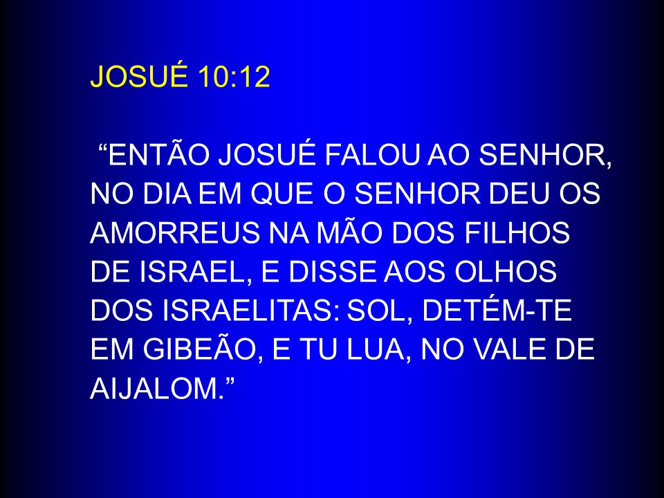 JOSUÉ 10:12