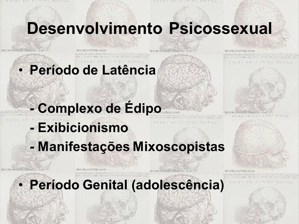 Desenvolvimento Psicossexual