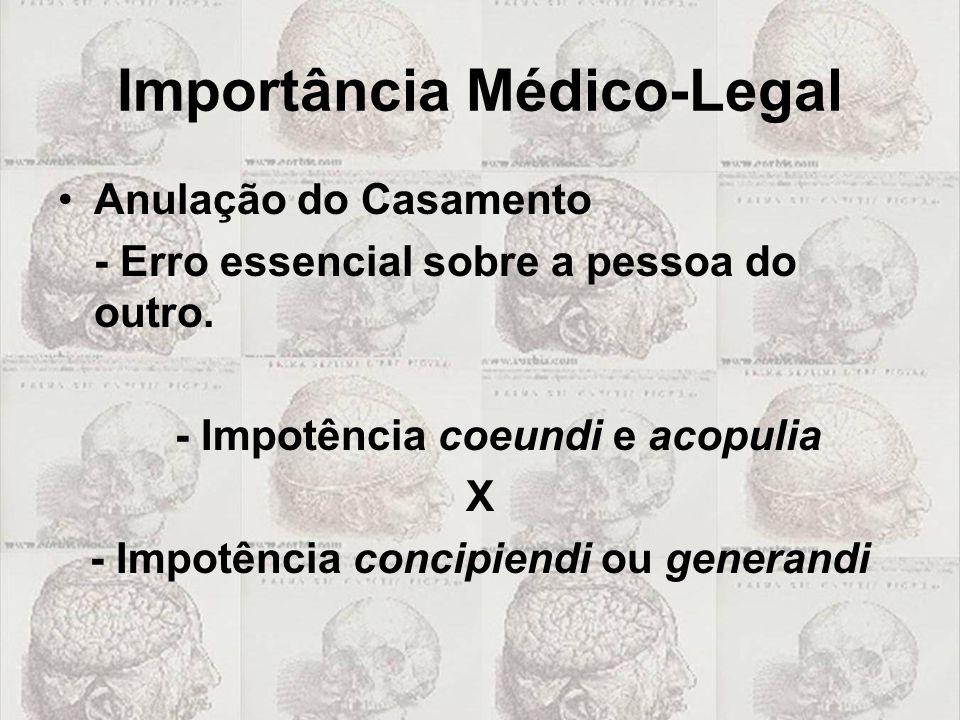 Importância Médico-Legal