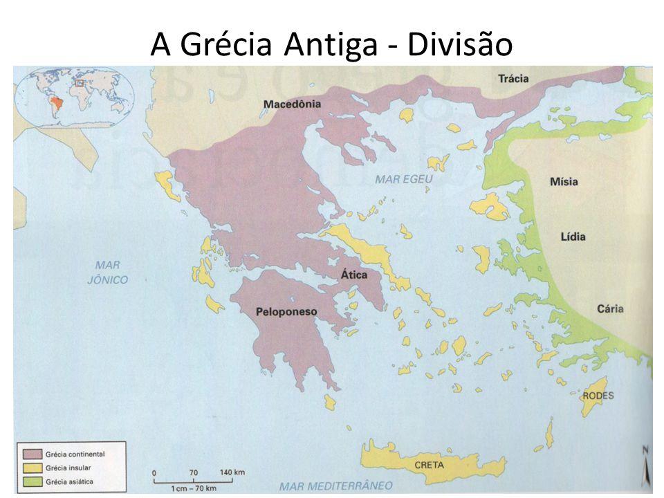 A Grécia Antiga - Divisão