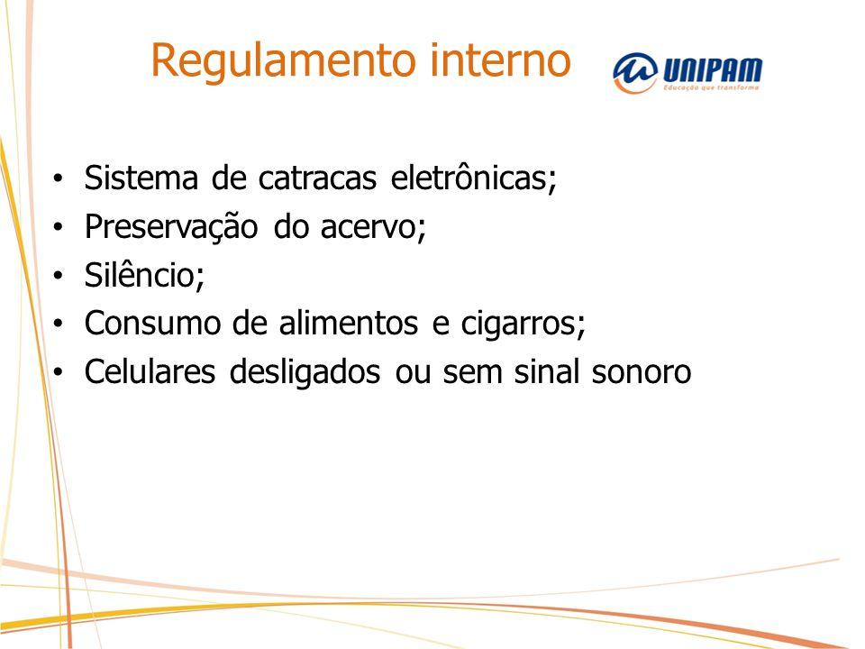 Regulamento interno Sistema de catracas eletrônicas;