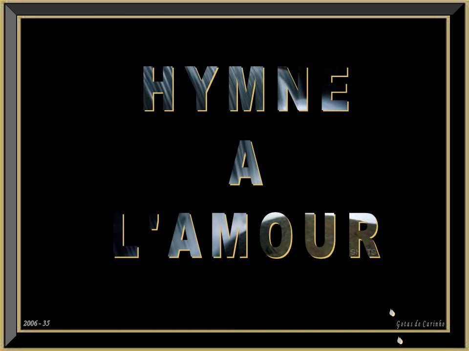 HYMNE A L AMOUR 2006 - 35 S Gotas de Carinho