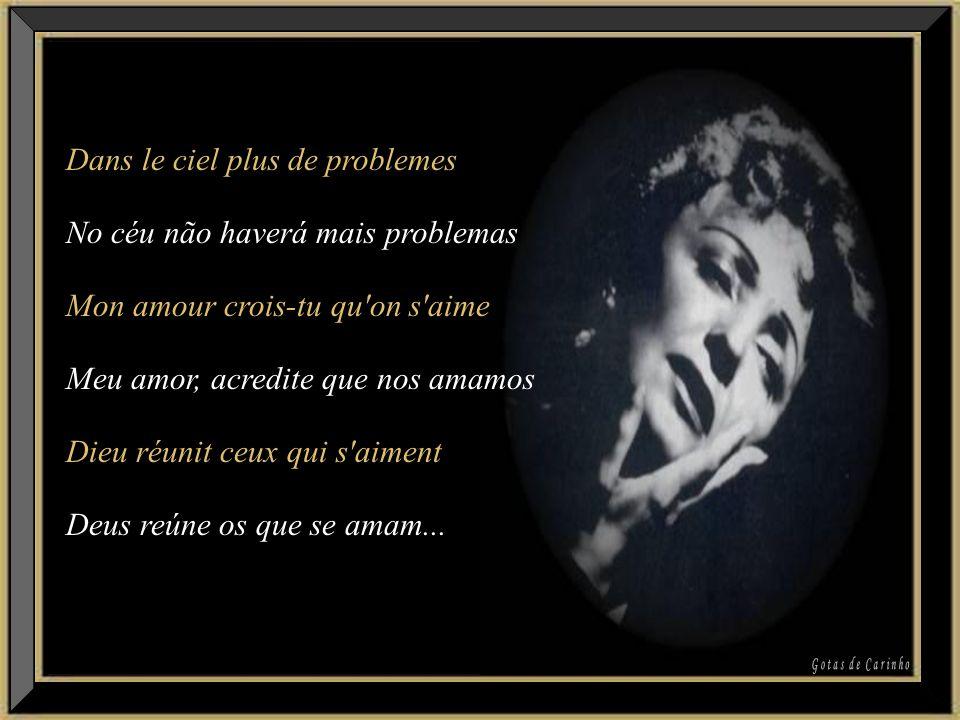 Dans le ciel plus de problemes No céu não haverá mais problemas