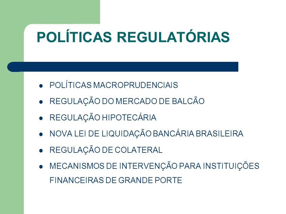 POLÍTICAS REGULATÓRIAS