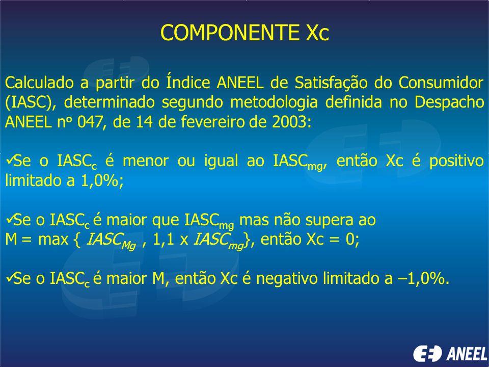 COMPONENTE Xc