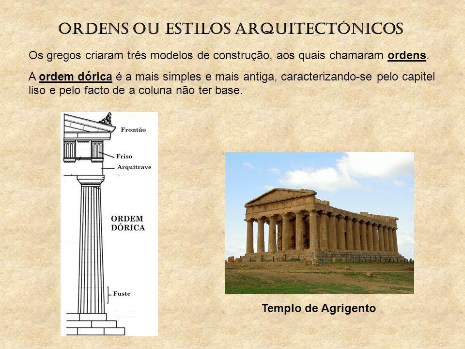 Ordens ou estilos arquitectónicos