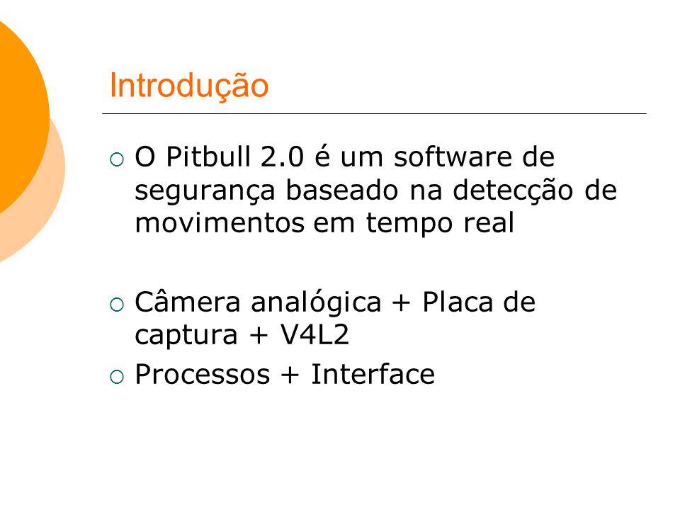 Introdução O Pitbull 2.0 é um software de segurança baseado na detecção de movimentos em tempo real.