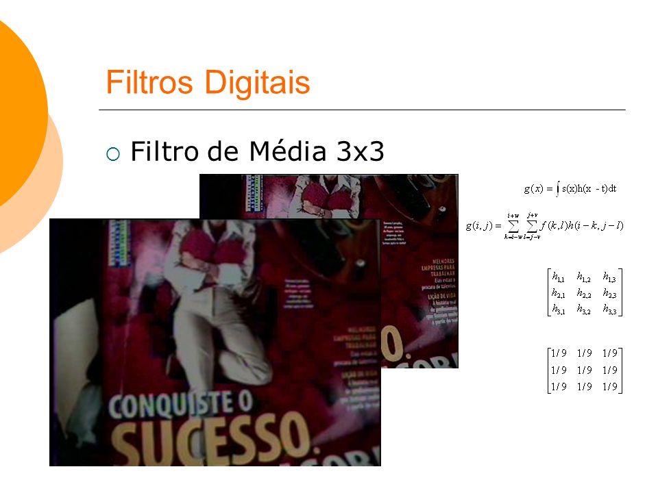 Filtros Digitais Filtro de Média 3x3