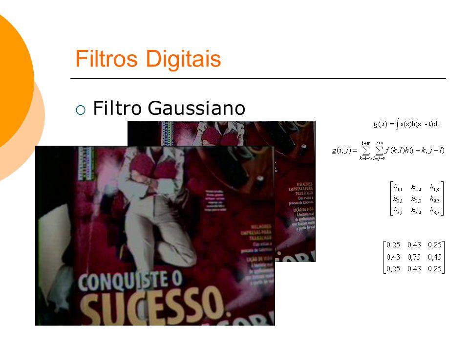 Filtros Digitais Filtro Gaussiano