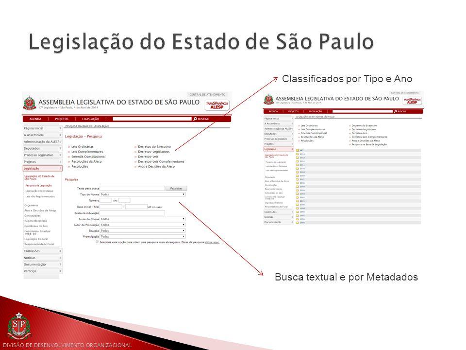 Legislação do Estado de São Paulo