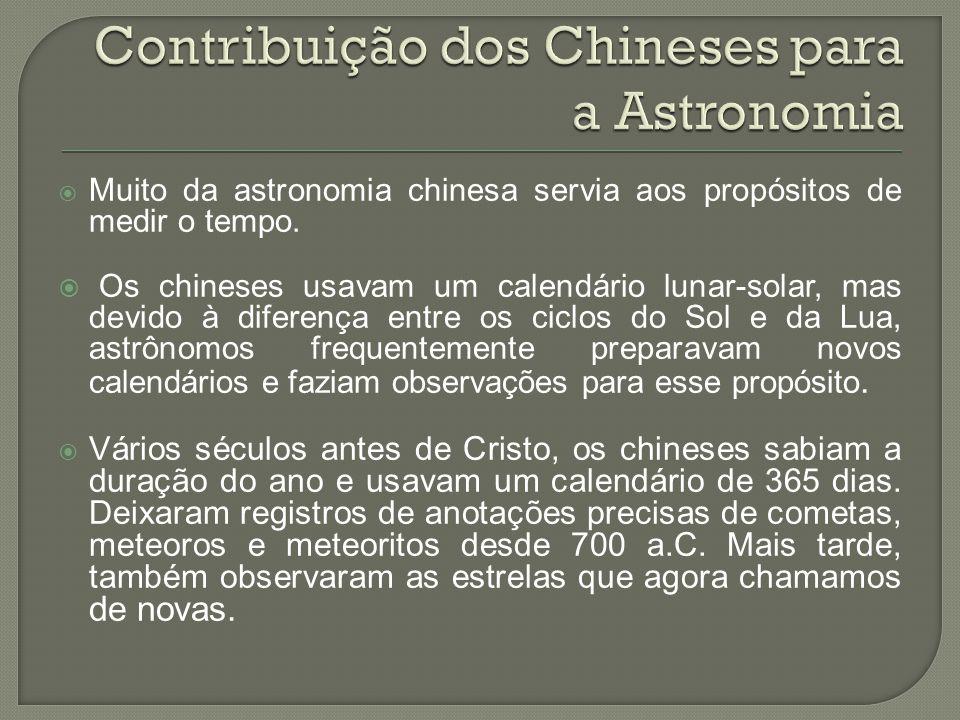 Contribuição dos Chineses para a Astronomia