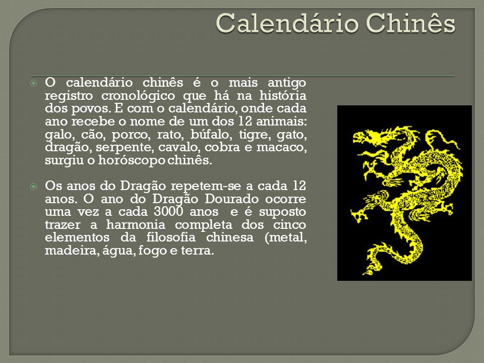 Calendário Chinês