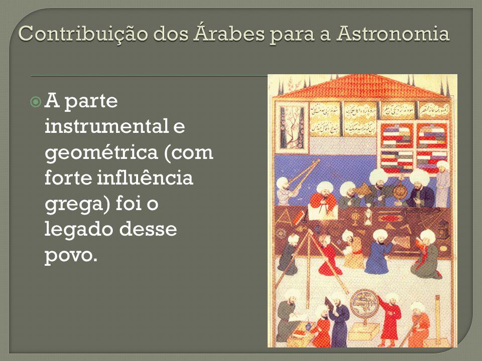 Contribuição dos Árabes para a Astronomia