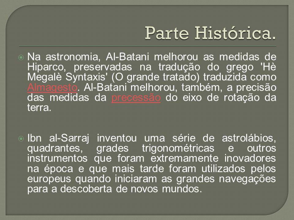 Parte Histórica.
