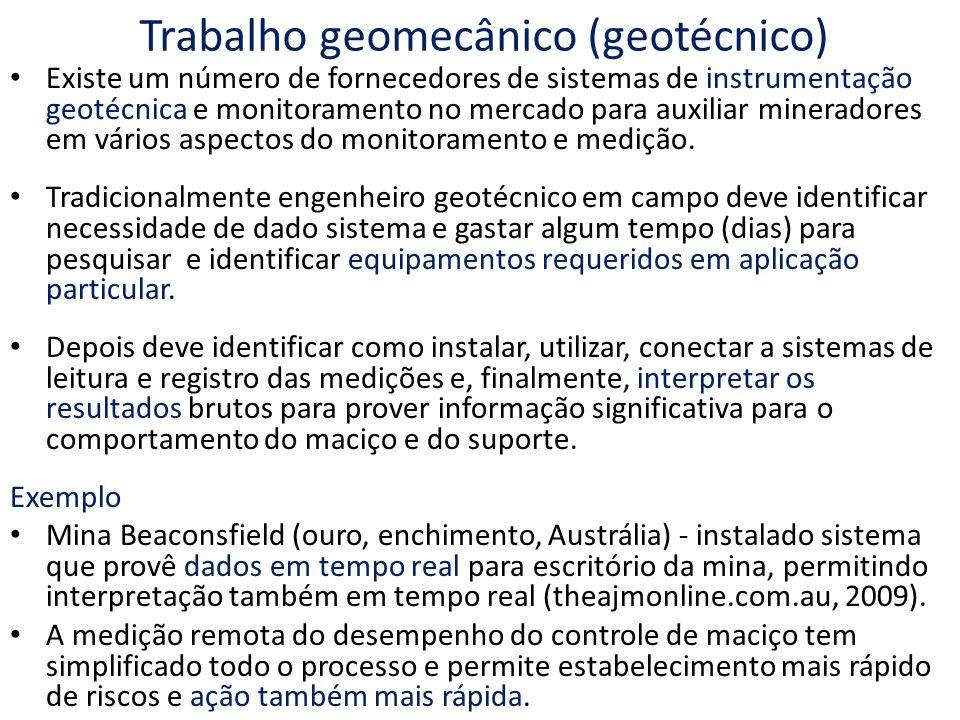 Trabalho geomecânico (geotécnico)