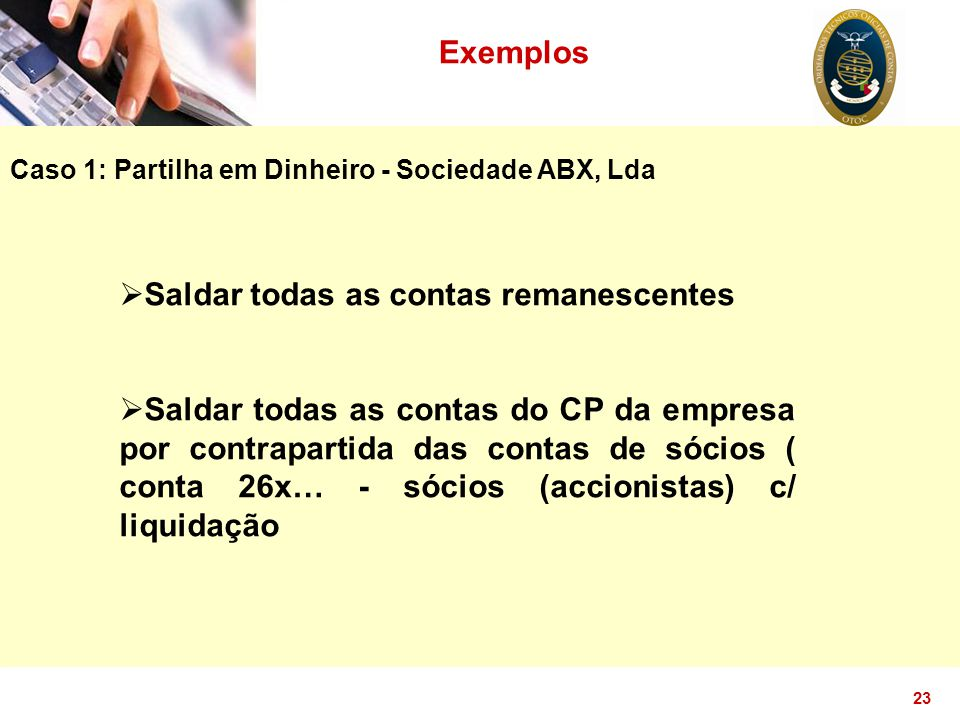 Saldar todas as contas remanescentes