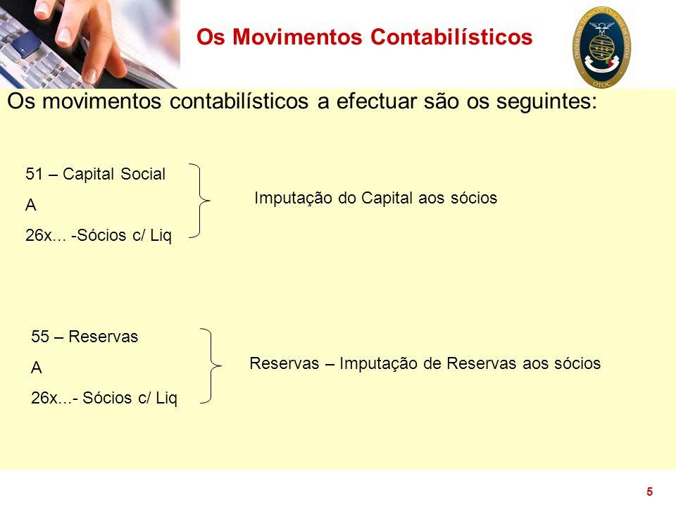 Os Movimentos Contabilísticos