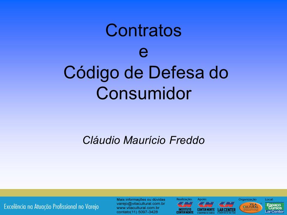 Contratos e Código de Defesa do Consumidor
