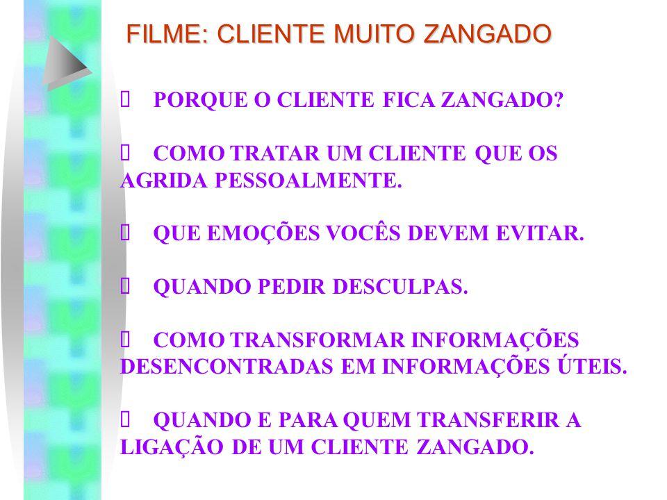 FILME: CLIENTE MUITO ZANGADO