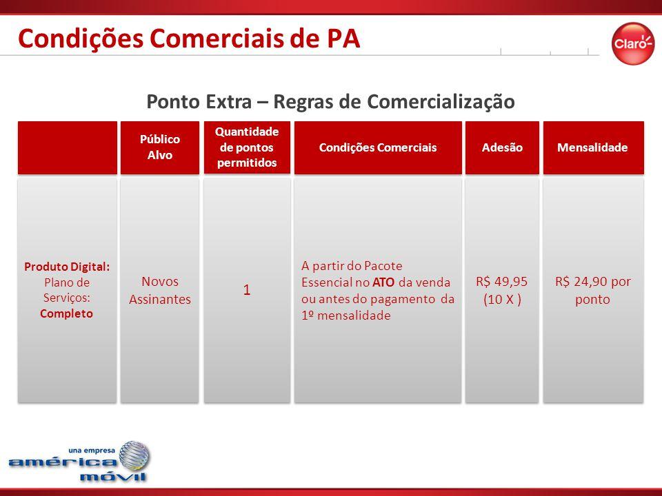 Condições Comerciais de PA