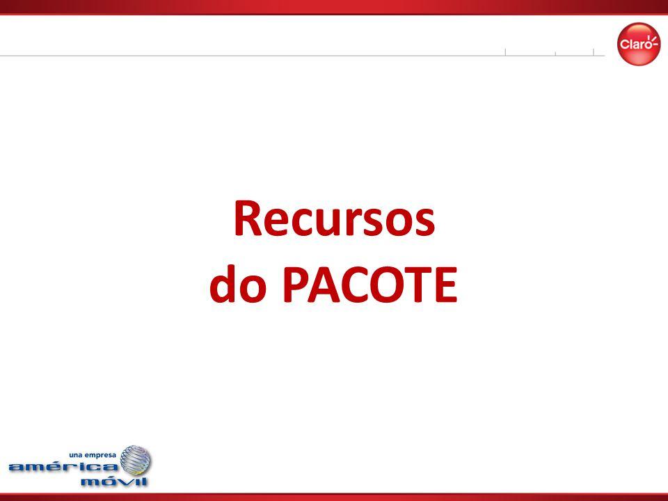 Recursos do PACOTE