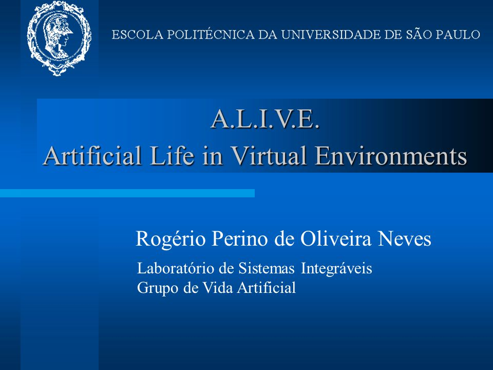 Artificial Life in Virtual Environments