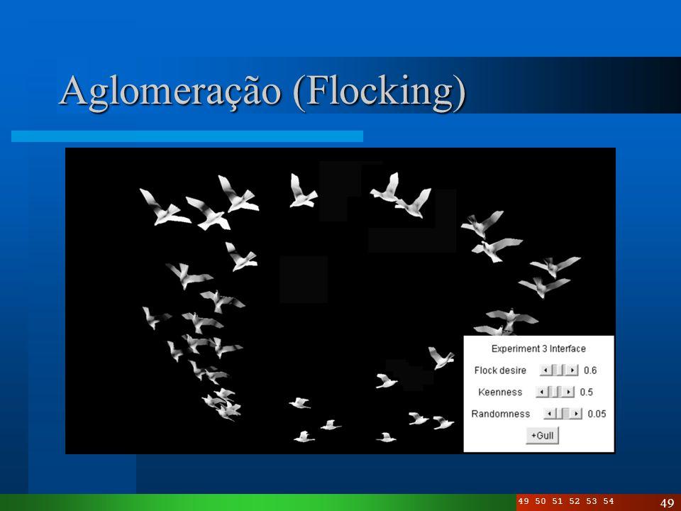 Aglomeração (Flocking)