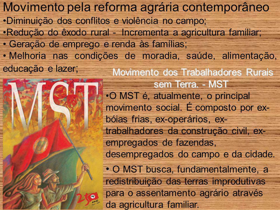 Movimento pela reforma agrária contemporâneo