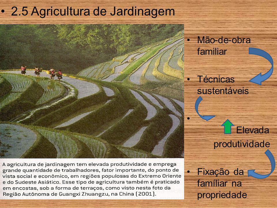 2.5 Agricultura de Jardinagem