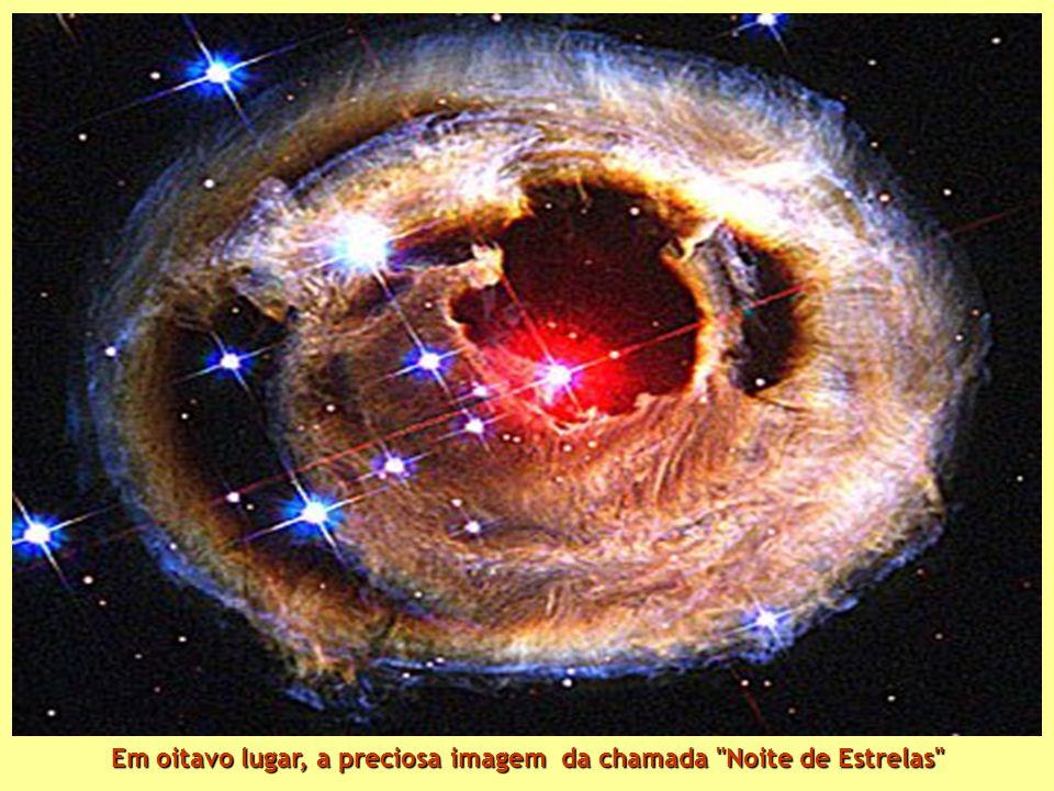 Em oitavo lugar, a preciosa imagem da chamada Noite de Estrelas