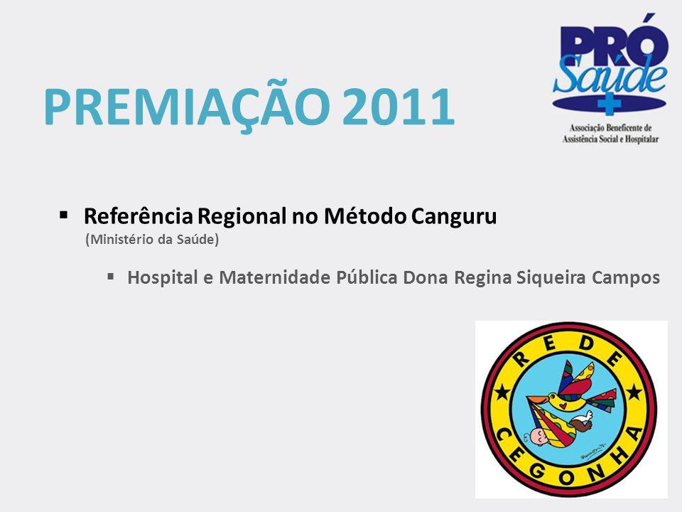 PREMIAÇÃO 2011 Referência Regional no Método Canguru