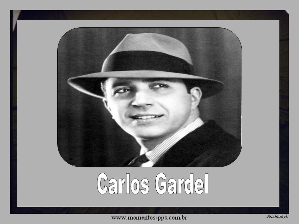A MEDIA LUZ Carlos Gardel