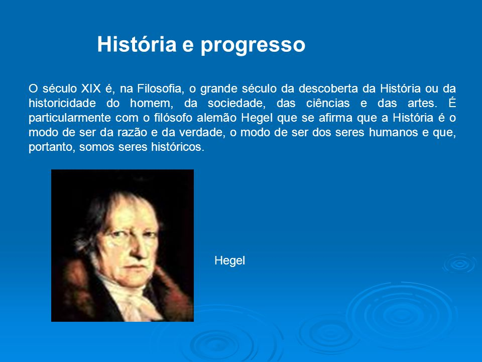 História e progresso