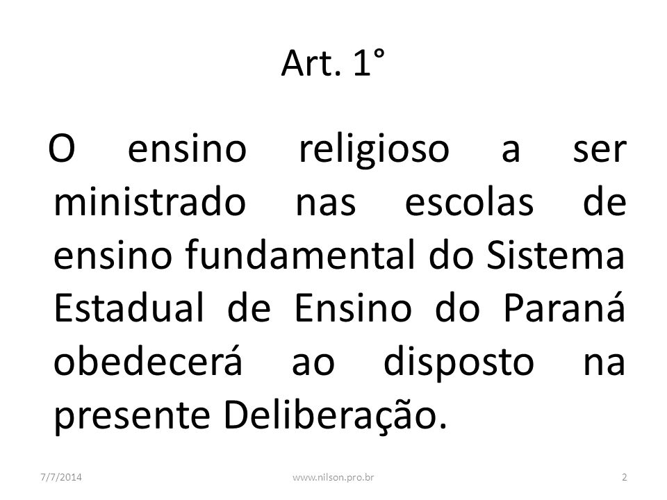 Art. 1°