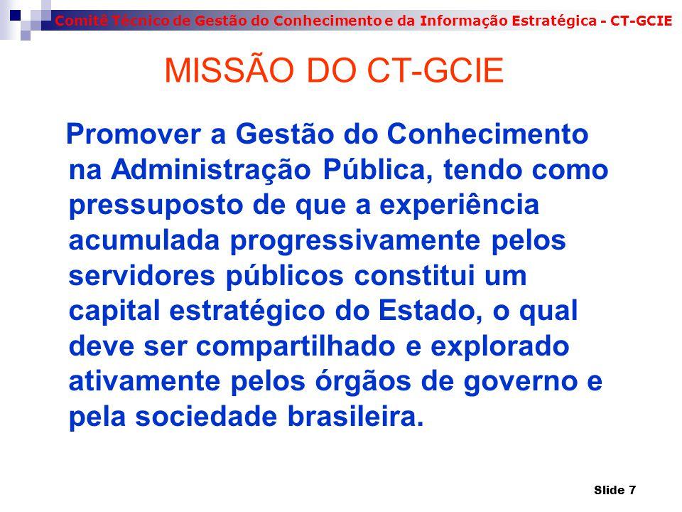 MISSÃO DO CT-GCIE