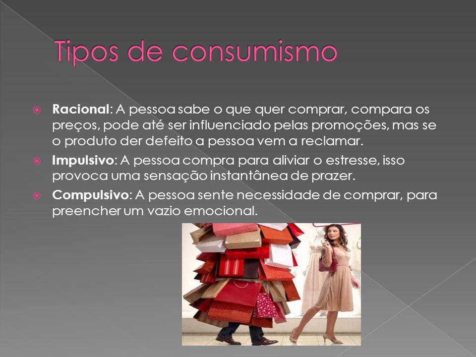 Tipos de consumismo