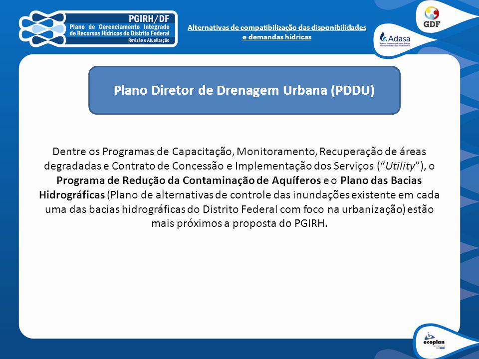 Plano Diretor de Drenagem Urbana (PDDU)