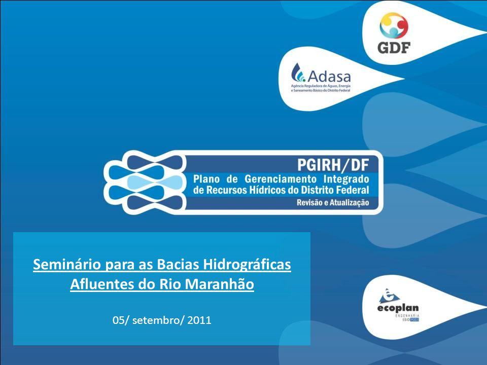 Seminário para as Bacias Hidrográficas Afluentes do Rio Maranhão